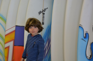 No full on pink surfboards?