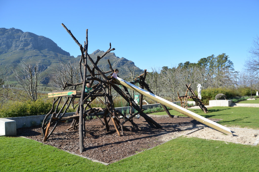 The playground at Tokara Deli