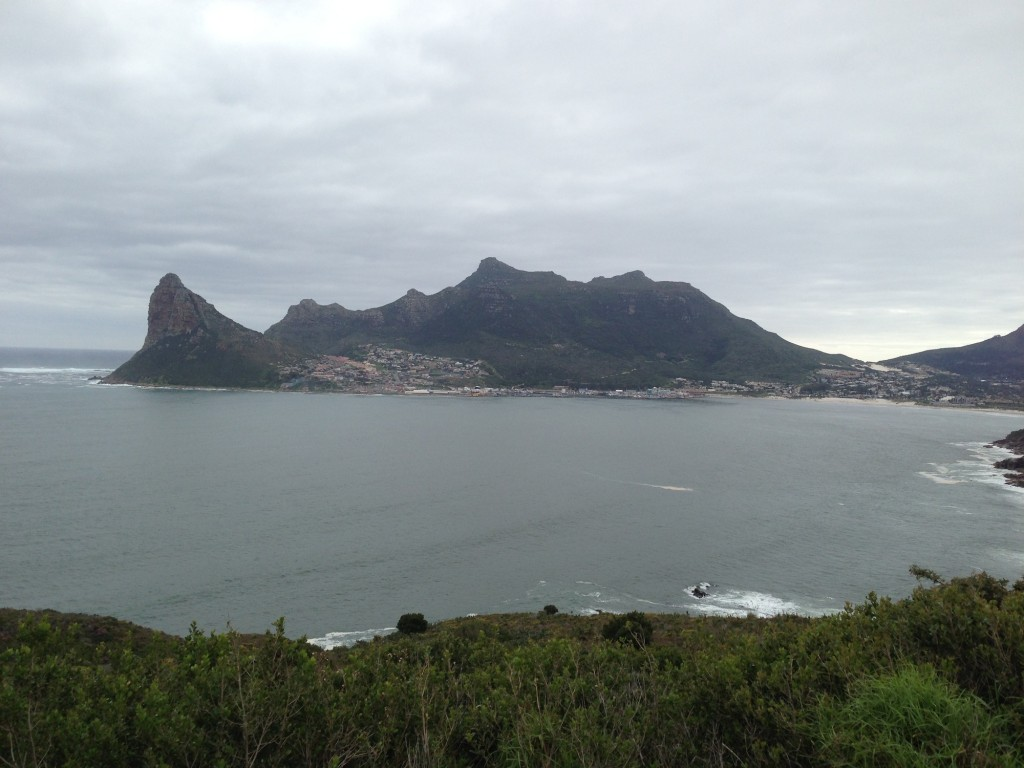 One of the stunning vistas from Chapman's Peak drive