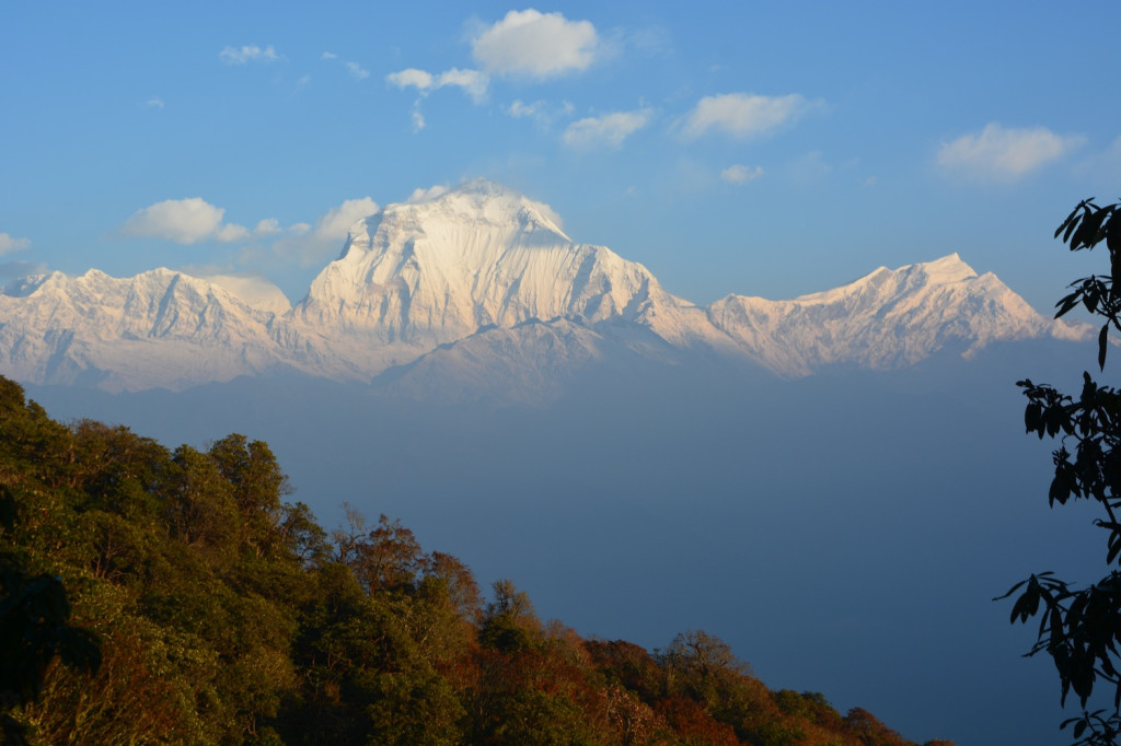 Dhaulagiri, the world's 7th tallest peak at 8,167 m , 26,796 ft