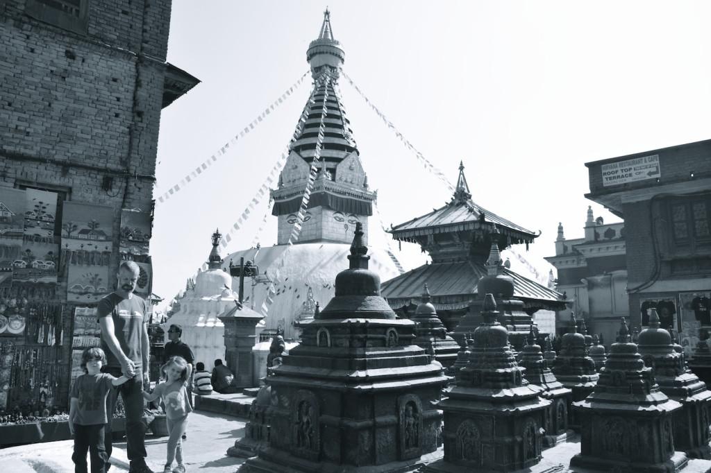 Swayambhunath Temple, aka Monkey temple