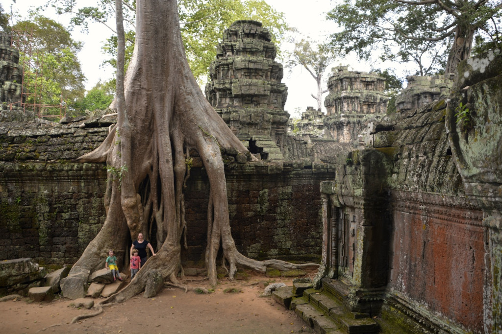 Ta Prohm temple, best known from Tomb Raider